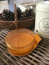 👿 Ancienne Boite à Fromage Boite à Camembert Orange Miflex Vintage