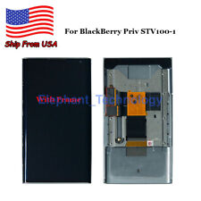 QC For BlackBerry Priv STV100-1 LCD Display Touch Screen Digitizer + Frame