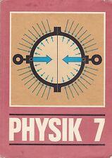 DDR Lehrbuch == Physik 7. Klasse/Volk und Wissen 1987 Berlin