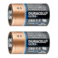 2 Loose Duracell CR2 3v Lithium Ultra Photo Camera Battery DLCR2 ELCR2 1CR2 KCR2