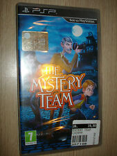 Game Psp The Mystery Team Video Game IN Italian Sealed