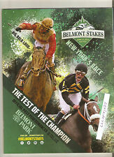 MINT 2000 BELMONT STAKES PROGRAM PAT DAY HALL OF FAME