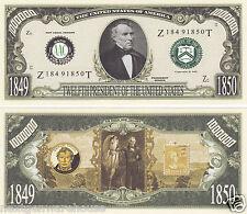 Two Zachary Taylor 12th U.S. President History Bills # P12