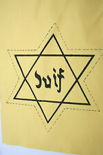 JEWISH JUIF JEW RELATED EX TV AND FILM PROP CHEST STAR DAVID BADGE COTTON