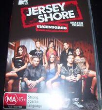 Jersey Shore Uncensored Season Three 3 (Aust Region 4) DVD - Like New
