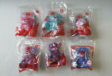 BUILD A BEAR  McDonalds Happy Meal Toy Set of 6 - 2015 NEW