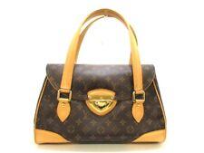 Auth LOUIS VUITTON Monogram Beverly GM M40120 Handbag DU0097