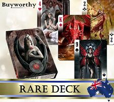 Anne Stokes Fantasy Art Playing Cards Collection Deck ~ Very Rare ~ Brand New