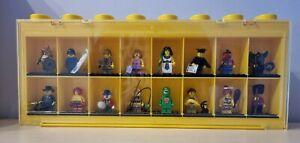 LEGO® Minifiguren  Serie 5 - 8805 - kompletter Satz - alle 16 Figuren + Display