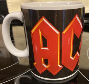 Rare AC/DC Coffee Mug Cup 12 Oz. 2011 Leidseplein Rock Band AC/DC Original FreeS