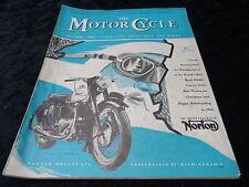The Motor Cycle Magazine - 24 December 1953. Norton, Drag Racing.