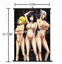 Japan Anime Kangoku Gakuen Prison School Home Decor Poster Wall Scroll gift