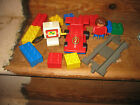 DUPLO LEGO RACING CAR WORK PETROL PUMP TRACK CONSTRUCT ASSORT BRICKS PLAYFIGURE