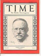 Time Magazine January 17, 1927 Charles T. Copeland