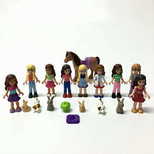 17pcs MEGA BLOKS My Life mini doll figures & Pets girl's building action toy