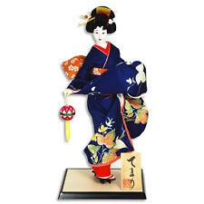 "Japanese OYAMA DOLL 18"" TEMARI TSUMA-AGE, GETA /Made in Japan"