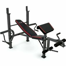 CAP Strength Weight Bench Press with Butterfly and Preacher Curl - Home Gym