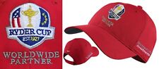 Nike Golf Ryder Cup Crested Golf Cap - Red - 1st Class Post - Paris 2018