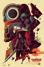 "GUARDIANS OF THE GALAXY Print By TOM WHALEN 24""x36"" - 19/325 Signed NYCC 2015"