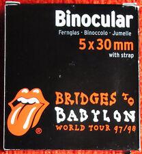 "ROLLING STONES ""Bigger Bang"" Fernglas Binocular Rare"