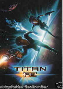 TITAN A.E. Trading Cards - Select from 1-45