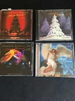 LOT OF 4 MANNHEIM STEAMROLLER CD's; Christmas/Holiday
