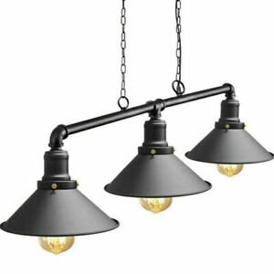 Industrial Retro Pendant Light Shade Suspended Ceiling Lights Style Metal Lamp