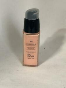 Diorskin Eclat Satin 102 Moisture Release Satin Makeup TST New Wthout Cap