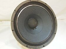 """Sansui 12"""" Alnico Woofer W-200 from SP-200 Tested Working Vintage 8 Ohm"""