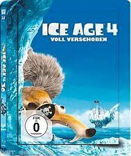 ICE AGE 4, Voll verschoben (Blu-ray 3D + Blu-ray Disc) Steelbook NEU+OVP