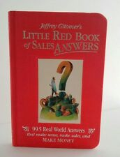 Red Book of Sales Answers by Jeffrey Gitomer  - Hard Cover