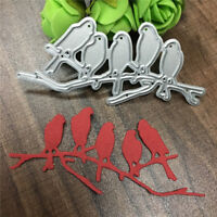 metal cutting dies stencil bird set diy card album photo decoration template LB