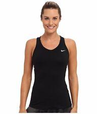 NWT Black Nike Advantage Court Dri-Fit Tank Top Size XS Extra X-Small Petite New