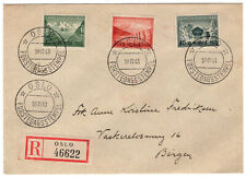 Norway Registered Cover 1943