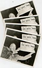 Dewey Defeats Truman Vintage Postcards - FIVE