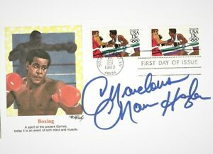 MARVELOUS MARVIN HAGLER SIGNED AUTOGRAPHED on Boxing First Day Cover