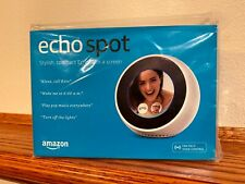 Amazon Echo Spot - White - Brand New in Sealed Box - Fast Free Shipping!