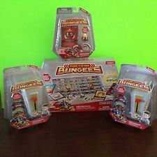 BUNDLE FLICK TO STICK BUNGEES DISK SHOOTERS PHREATIC DISC DELUXE PACKAGE NEW