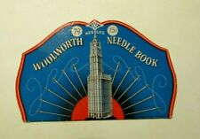 Vintage Woolworth's needle book Pack