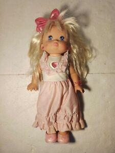 🎎 Bambola Mattel Lil Pj Sparkles Mattel 1988 42cm FUNZIONANTE 🎎