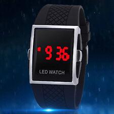LED Digital Screen Wrist Sport Watch For Men Women Unisex Boys Girls Kids