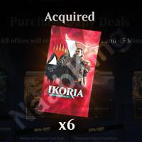 Magic The Gathering Arena (MTGA) Ikoria 6x Booster-Prerelease Code
