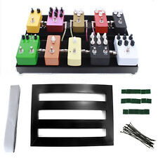 Electric Guitar Pedal Boards Effects PedalBoard Cases 37x27x2cm + Adhesive Tape
