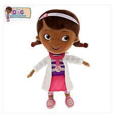 Disney Jr Doc McStuffins Plush Large 12″ Doll Toy Glitter Accents Doc Vet Scrubs