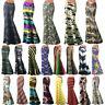 Tie Dye Retro Boho Womens High Waist Long Dress Beach Party Maxi Skirts Casual