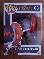 Funko Pop League Of Legends DJ Sona Concussive #08 Riot Exclusive
