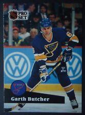 NHL 210 Garth Butcher St. Louis Blues Pro Set 1991/92