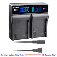 Kastar Battery LCD Rapid Charger for Nikon EN-EL1 MH53 Nikon Coolpix 4500 Camera