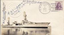 1933, USS Louisville, CA-28, Autographed by Members of Crew (N2721)