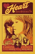 Heart 1978 Tour Poster